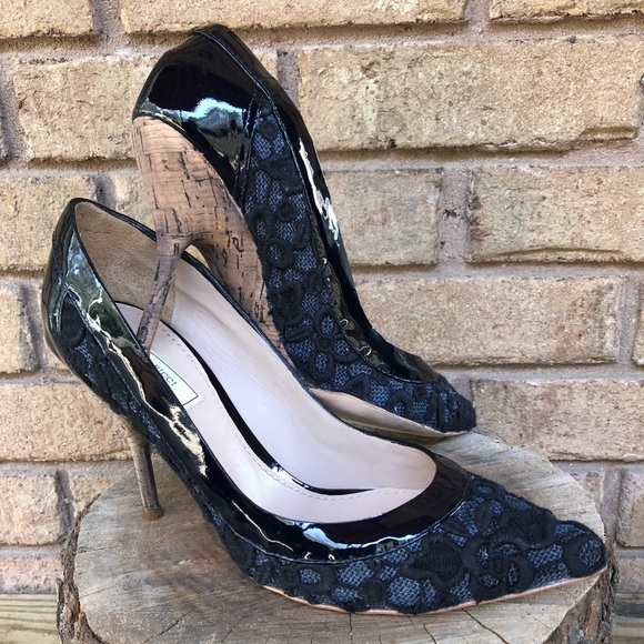 40c1d67a9 Nina Ricci Shoes | Made In Italy Embroidered Pump Heels | Poshmark